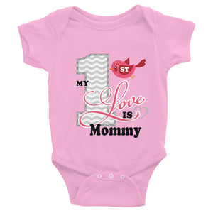 mommy love t-shirt for valentine's day