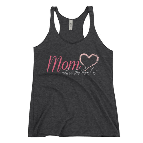 Inspirational Work Out Racerback Tank- Fitness Tank for Mom - Mother's Day Gift