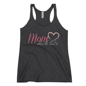 Inspirational Work Out Racerback Tank- Fitness Tank for Mom - Mother's Day Gift - CraftyKizzy