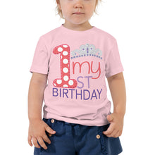 my first birthday princess t-shirt