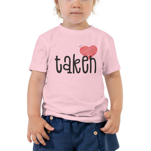 Toddler taken my heart shirt