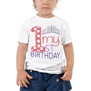 toddler princess party shirt