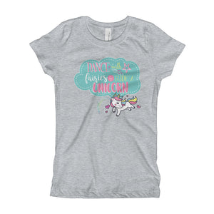 Youth Ride a Unicorn T-Shirt - Unicorn Tee - Dance With Fairies Ride a Unicorn Shirt Sizes XS-XL
