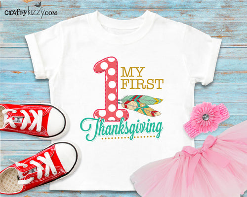 My first thanksgiving tshirt outfit