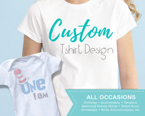 Custom T-shirt Design - Custom Tees