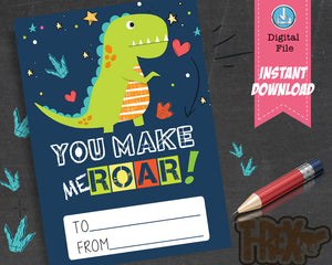 You make me Roar Valentine