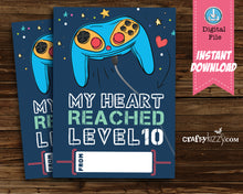 Airplane Boy Valentines Day Card Boys Airplanes Let's Soar Valentine School Classroom Cards - DIY Valentine's INSTANT DOWNLOAD