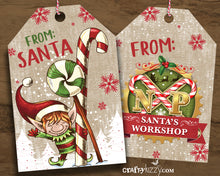From the North Pole Gift Tags