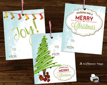 Joy Word Tree Christmas Outfit Iron On - Printable Transfers - Holiday Digital Decal for Shirts Baby Outfit INSTANT DOWNLOAD