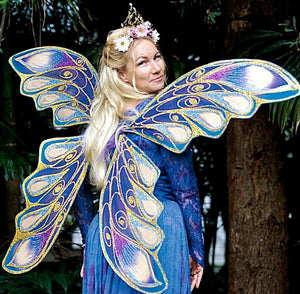 Adult Fairy Wings Costume Huge Butterfly