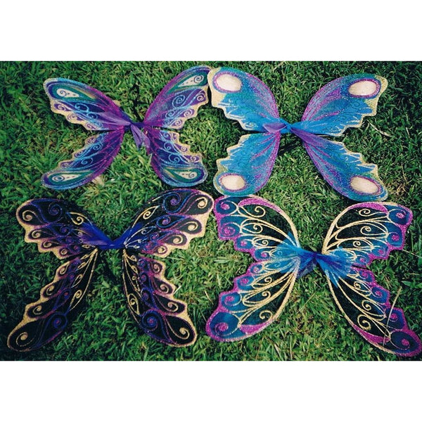 Large Fairy Wings Adult Size Handmade Custom Colours