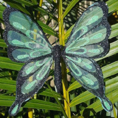glow in the dark butterfly ornament decoration