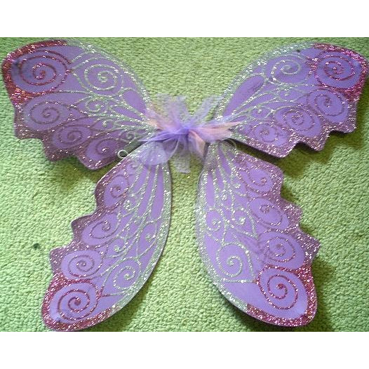 Adult size fairy wingsCustom made Large Fairy wings Lavender Light purple Adult size