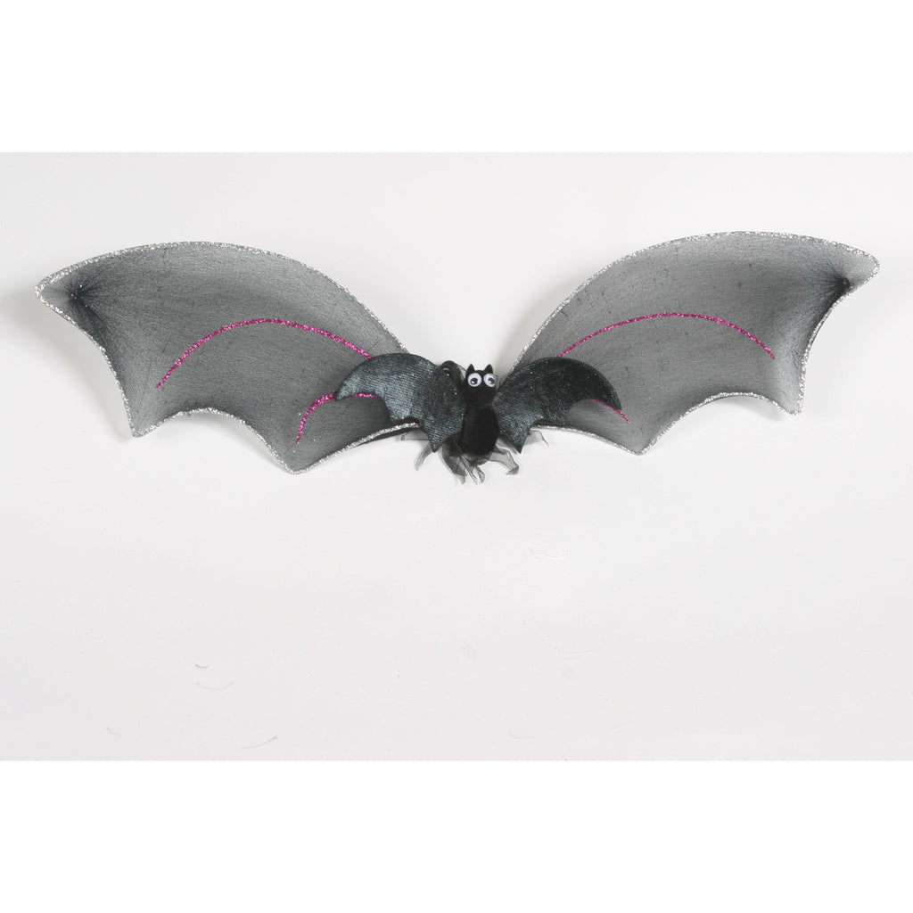 ... Child or Dog small batwings bat wing costume body glitter trim wings with elastic straps ...  sc 1 th 225 & Small Bat Wings child size black halloween wing u2013 www.fairy.com.au