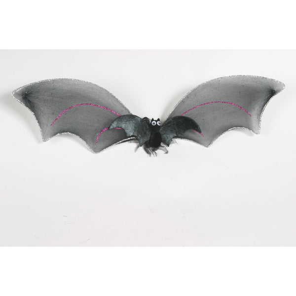 Child or Dog small batwings bat wing costume body glitter trim wings with elastic straps