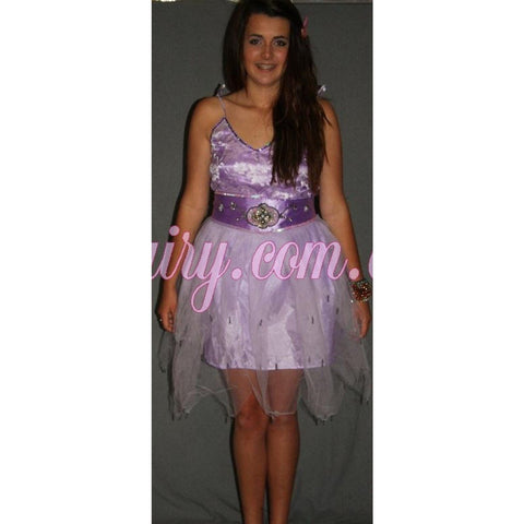 Teenage adult fairy costume set tulle skirt lace top sequin beaded dress up