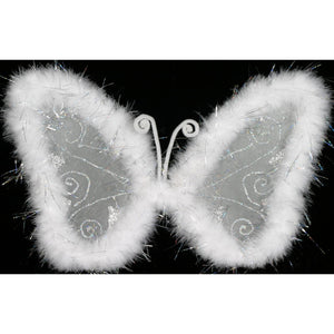 White Butterfly Fairy Wings Dance Butterfly Costume