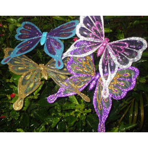 flock of butterflies ornaments