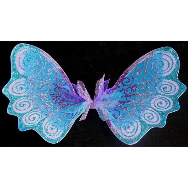Handmade Blue Purple Fairy wings custom colours hand painted wings