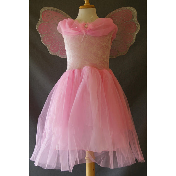 Pink Princess Party Dress Child opera gown frock dress up flower girl princess