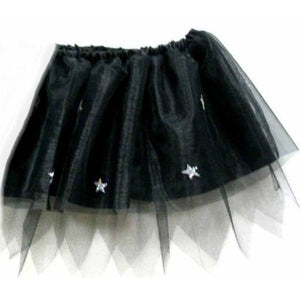 Black Witch mini Skirt tutu halloween party costume