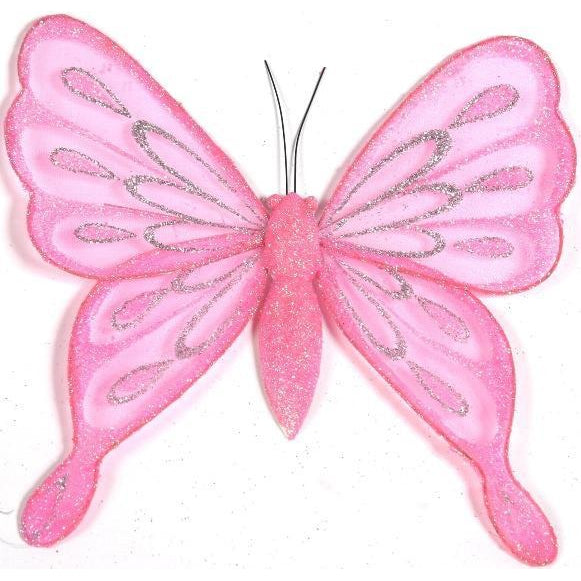 pink butterfly room decoration ideas