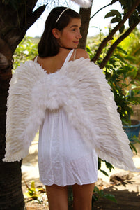 Adult Angel Wings white