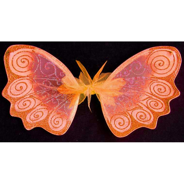 Fairy Wings bright orange garden fairy custom color design factory original wings