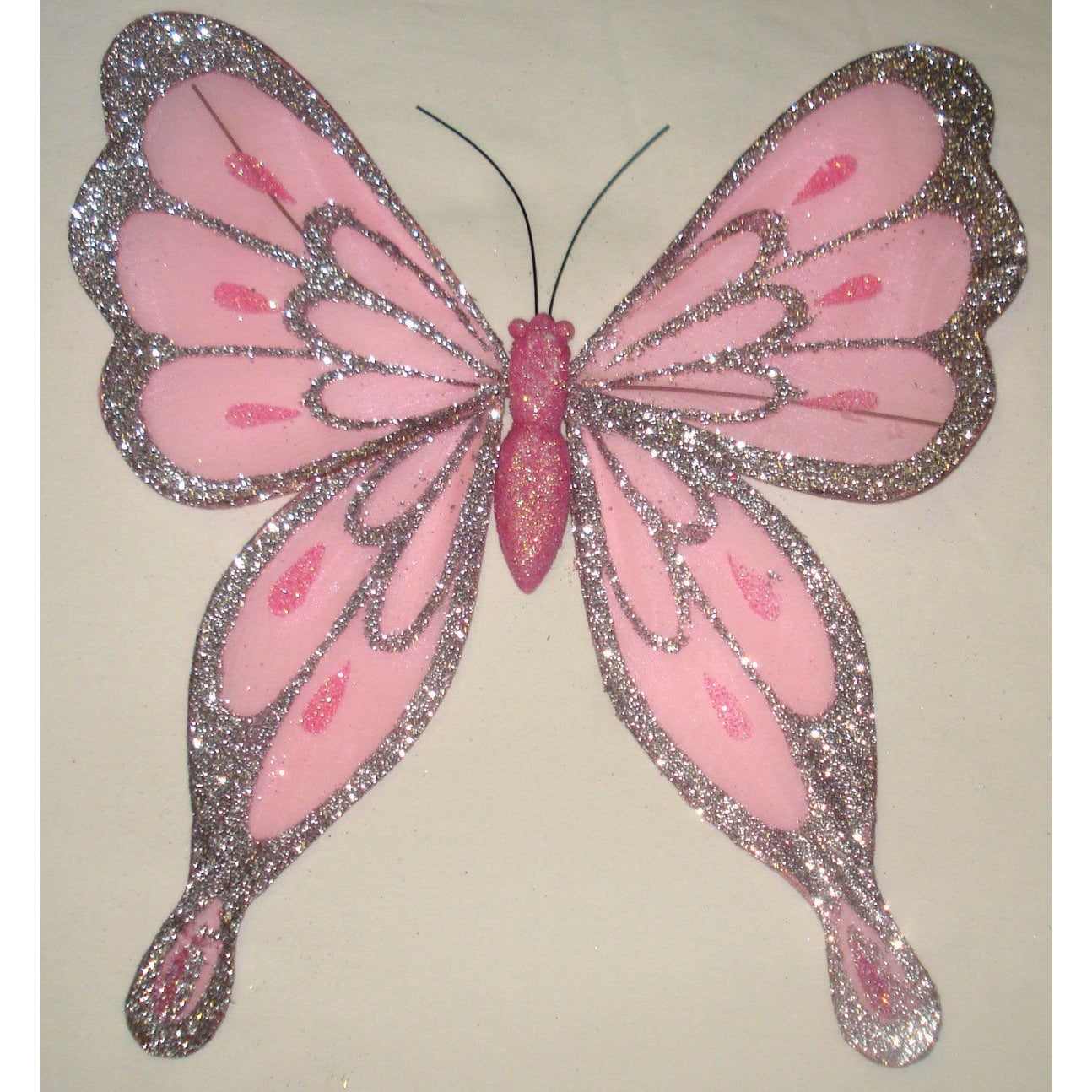 Pink Butterfly  wings decoration Ornament decoration DIY craft project supplies