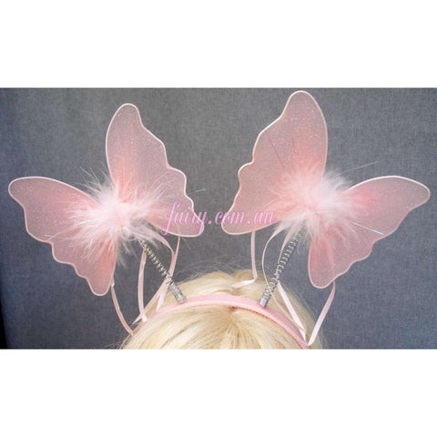 Butterfly Craft project DIY Antennae headband party activity fairy
