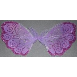 handmade fairy wings child size lavender fairy