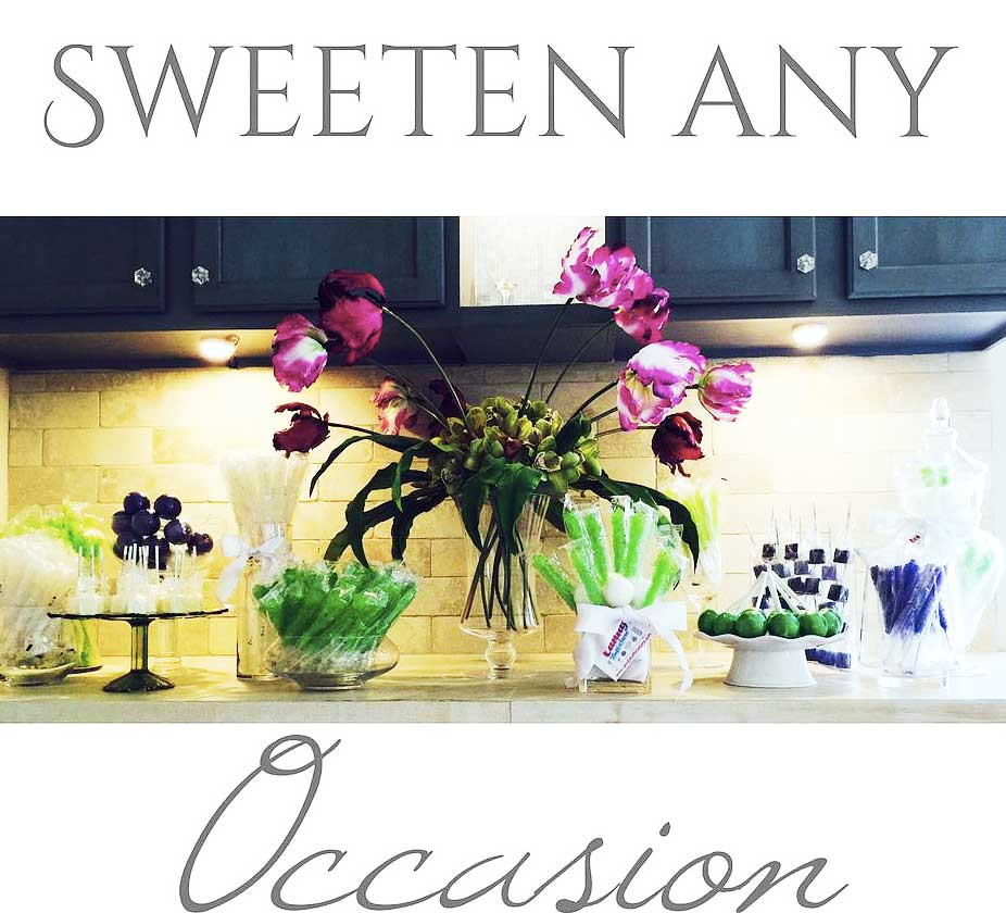 Sweeten any occasion with Candy Envy!