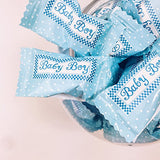 Baby Boy Buttermints - 13 oz. Bag - Approximately 105 Individually Wrapped Mints