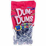 Dum Dums - Black, Black Cherry, Color Party - 75 ct. bag