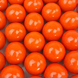 Gumballs - Orange Gumballs, 1 inch diameter - 2 lb bag