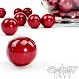 Gumballs - Red Gumballs, 1 inch diameter - 2 lb bag