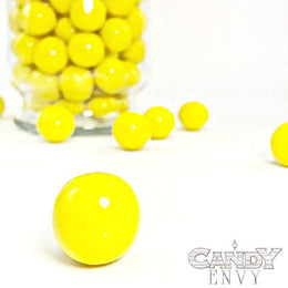 Gumballs - Yellow Gumballs, 1 inch diameter - 2 lb bag