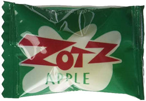 Zotz - Green Apple Flavored - 2 LB Bag