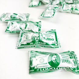 Money Buttermints - 13 oz. Bag - Approximately 105 Individually Wrapped Mints