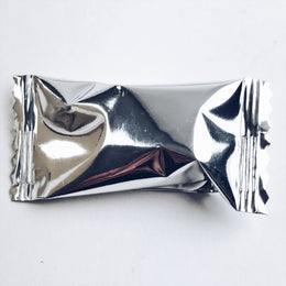 Silver Foil Wrapped Buttermints, 14 oz. Bag - 108 Individually Wrapped Mints
