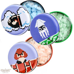 Know Your Enemies - Officially Licensed by Nintendo, Super Mario Bros. Baddy Candy Tins - 3-Pack