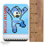 Mega Mints - Retro Megaman 8-Bit Mint Tins - 3-Pack