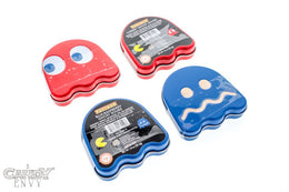 Pac-Man Ghost Sours - Red and Blue Ghost Tins - 4-Pack