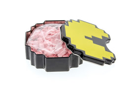 Pac-Man Bonus Fruit - Iconic 8-bit Pac-Man Shaped Tins with Cherry Flavored Candies -3-Pack