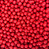 Candy Pearls - Red, 2 Pound Bags - Delicious Toppings on Desserts or Fillers for Candy Tables