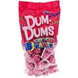 Dum Dums - Red, Strawberry, Color Party - 75 ct. bag