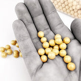 Candy Pearls - Shimmer Gold, 2 Pound Bags - Delicious Toppings on Desserts or Fillers for Candy Tables