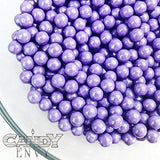 Candy Pearls - Shimmer Lavender, 2 Pound Bags - Delicious Toppings on Desserts or Fillers for Candy Tables