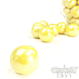 Gumballs - Shimmer Yellow - 2 lb bag