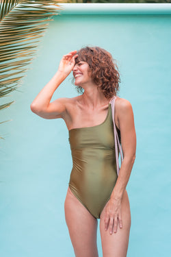 Selena  one piece - Olive & Fig
